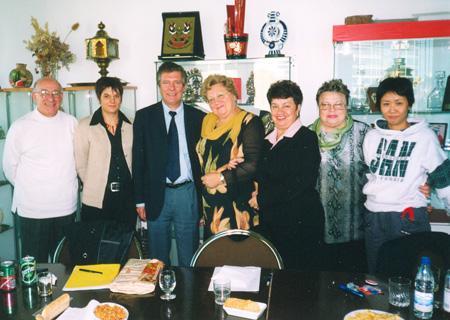г. Париж, 2004 г. Встреча в ВКТ Франции